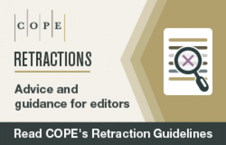 COPE's retraction guidelines