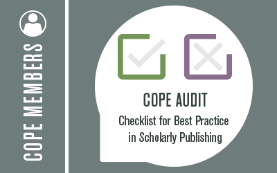 Committee on Publication Ethics: COPE | Promoting integrity
